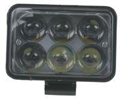 Obrázek LED světlo obdélníkové, 6x3W, 111x92mm