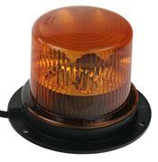 Obrázek PROFI LED maják 12-24V 36x1W oranžový magnet ECE R65 130x90 mm