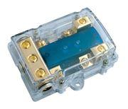 Obrázek Pojistkové pouzdro pro 2 AFS pojistky s LED
