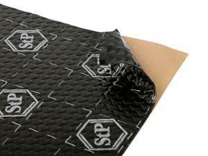 Obrázek z STP Black Silver antivibrační a tlumící materiál 50 x 75 cm