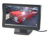 """Obrázek LCD monitor  4,3"""" černý na palubní desku"""