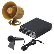 Obrázek Hobby zvukový systém 15W (35 variant zvuků zvířat a sirén + mikrofon)