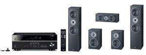 Obrázek z Magnat Monitor Supreme set 802 černá + Yamaha HTR-4072 černý