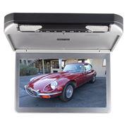 """Obrázek Stropní monitor 13,3"""" šedý s DVD/SD/USB/IR/FM/HDMI"""
