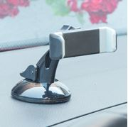 """Obrázek Univerzální držák 2in1 s úchytem na sklo / větrací mřížky Smartphone 3,5""""- 6,5"""""""