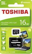 Obrázek Toshiba micro SDHC 16GB UHS-I M203 + adaptér