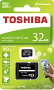 Obrázek Toshiba micro SDHC 32GB UHS-I M203 + adaptér