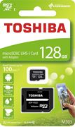 Obrázek Toshiba micro SDXC 128GB UHS-I M203 + adaptér