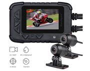 """Obrázek Motocyklová DUAL FULL HD kamera, 2,4"""" LCD, IP67 s GPS"""