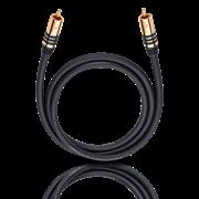 Obrázek Oehlbach NF Sub-kabel cin/cinch 3,0m mono/ černá