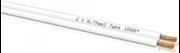 Obrázek Oehlbach LS-Kabel 2x0,75mm, bílá