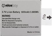 Obrázek Niceboy Náhradní baterie 900 mAh