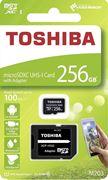 Obrázek Toshiba micro SDXC 256GB UHS-I M203 + adaptér