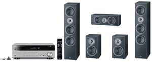 Obrázek z Magnat Monitor Supreme set 1002 černý + Yamaha RX-V381 titan