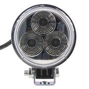 Obrázek LED světlo kulaté, 3x3W, 83x51mm, ECE R10