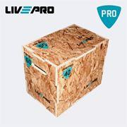 Obrázek Livepro 58150 Plyometrická bedna dřevněn
