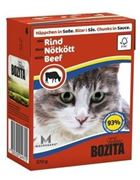 Obrázek BOZITA Cat kousky v omáčce hovězí TP 37