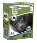 Obrázek BOZITA Cat kousky v omáčce králík TP 37