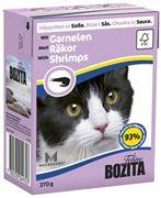 Obrázek BOZITA Cat kousky v omáčce krevety TP 3