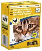 Obrázek BOZITA Cat kousky v omáčce kuře a krůta