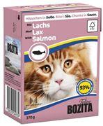 Obrázek BOZITA Cat kousky v omáčce losos TP 370