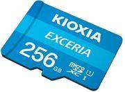 Obrázek KIOXIA micro SDHC 256GB UHS-I + adaptér