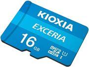 Obrázek KIOXIA micro SDHC 16GB UHS-I + adaptér