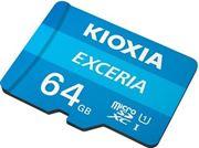 Obrázek KIOXIA micro SDHC 64GB UHS-I + adaptér