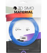 Obrázek 3DSimo Filament-ABS-modrá,zelená,žlutá