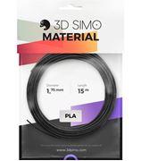 Obrázek 3DSimo Filament PLA-černá,zlatá,stříbrná