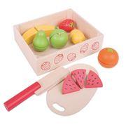 Obrázek Bigjigs Toys Krájecí ovoce v krabičce