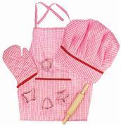 Obrázek Bigjigs Toys Růžový set šéfkuchařky
