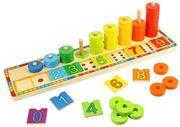 Obrázek Bigjigs Toys Deska nasazování s čísly