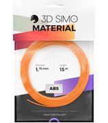 Obrázek 3DSimo Filament ABS II-oranž.,černá,bílá