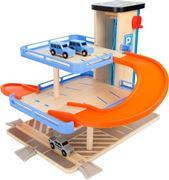 Obrázek SMALL FOOT Dřevěná patrová garáž