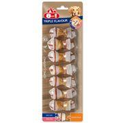 Obrázek 8In1 Kost Žvýkací Triple Flavour xs 7Ks