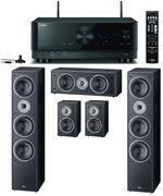 Obrázek Magnat Monitor Supreme set 1002 černý + Yamaha RX-V4A černý