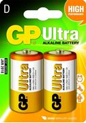 Obrázek GP Ultra LR20 alkalicka baterie 1,5V