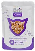 Obrázek Brit Care Kitten Chicken&Cheese Kap. 80g